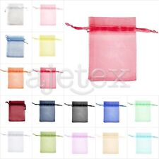 50/100/200/500pcs Large Organza Bags 20x30cm Wedding Favor Jewelry Gift Pouch FB