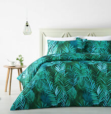 The Big Sleep Palms Leaf Tropical Quilt Doona Cover Set SINGLE DOUBLE QUEEN KING