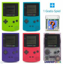 GameBoy Color Console (Colour By Choice) + FREE Nintendo GBC Game TOP