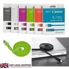 pple MFi Certified Extra Long 1.5M Lightning To 8Pin USB Data Sync Charger Cable