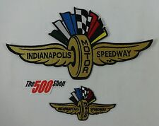 Indianapolis Motor Speedway Patch Indy 500 Brickyard 400 IMS IndyCar Nascar