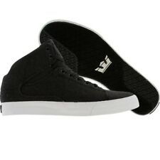 $119.99 Supra TK Society Mid charcoal wool suit skateboard fashion sneakers