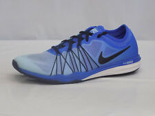 Nike DUAL FUSION TR HIT FADE Womens Blue Athletic Comfort Training Shoes