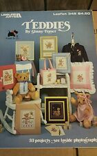 COUNTED CROSS STITCH PATTERN BOOKLET CHOOSE BEARS TEDDIES TEDDY BEAR BURDETT