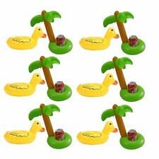 Inflatable Palm Trees Duck Drink Holder Water Toys Summer Pool Party Decorations