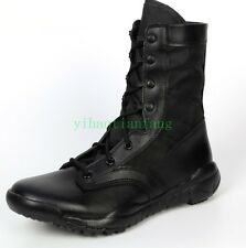 Mens Military Tactical High Top Ankle Boot Strappy Desert Combat Hiking Army