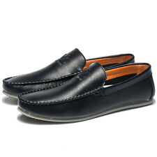 Genuine Leather Loafer  Comfy Casual Men European Flats Shoes Oxfords Boat Shoes