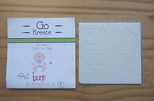 Go Create Burp the New Baby Die Cutter for Card Making Scrapbooking