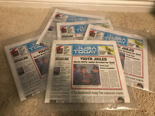 USA TODAY BACK TO THE FUTURE 2 FULL NEWSPAPER ISSUE OCTOBER 22 2015 (LOT OF 5)