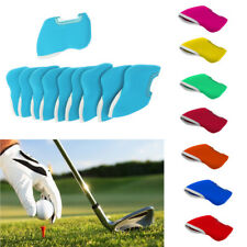 10Pcs Universal Golf Iron Putter Head Cover Protector Wedge Sock Headcovers