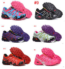 New Women & Lady Salomon Speedcross 3 Athletic Running Outdoor Hiking Shoes