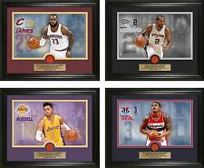 Choose Your NBA Player Game-Used Basketball Photo Mint by the Highland Mint