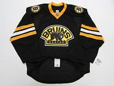 BOSTON BRUINS AUTHENTIC THIRD TEAM ISSUED REEBOK EDGE 2.0 7287 HOCKEY JERSEY