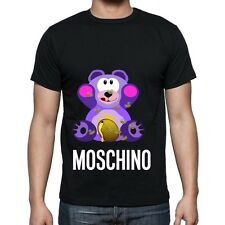 Black Men Mens Modern Sexy New T-Shirt Tee Cute Bear Moschino 2017