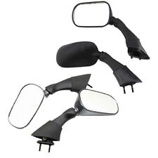 For 2003-2005 Yamaha FJR 1300 FJR1300 Pair Black NEW Style Side Rearview Mirrors