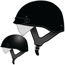 Speed and Strength SS410 Solid Speed Mens DOT Street Riding Motorcycle Helmets