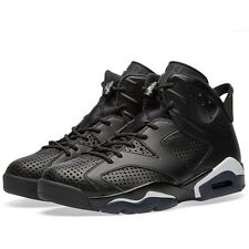 Mens Nike Air Jordan 6 Retro - Black Cat Basketball Shoes [ Size UK 8.5 ] BNIB