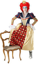 Red Queen of Hearts Alice in Wonderland Costume NEW - Ladies Carnival Sweater
