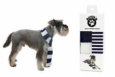 Dog scarf. Navy Blue football scarf for Dogs Spurs/West Brom/Bolton
