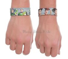 New Disney Toy Story Buzz Lightyear Or Woody Rubber Slap Bracelet Wristband