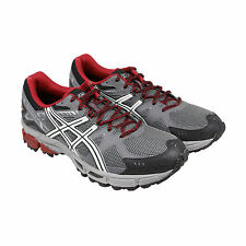 Asics Gel Kahana 7 Mens Black Mesh & synthetic Athletic Lace Up Running Shoes