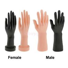 12 Inch Female Male Manikin Mannequin Hand Jewelry Bracelet Ring Gloves Display