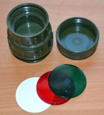 British Army NATO Military Right Angle Torch Filter Kit
