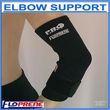 ELBOW SUPPORT with Tennis ELBOW Strap , Made From FLOPRENE BREATHABLE NEOPRENE