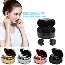 Mini Twins TWS Wireless Earphones In-Ear Earbuds Bluetooth Stereo Headset NEW