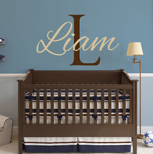 Personalized Boy Name Wall Decal Custom Name Vinyl Decal Sticker Nursery ZX81