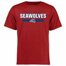 Stony Brook Seawolves Team Strong T-Shirt - Red - NCAA