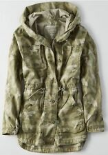 NWT American Eagle Women's AEO Camo Anorak Jacket Coat - Size XS, S, M, L