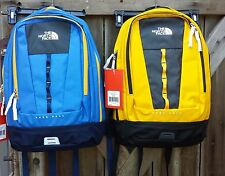 The North Face Base Camp Free Fall laptop school backpack  yellow