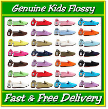 Flossys Flossy Plimsoll Shoes All Colours Baby & Toddler Sizes UK 3–7.5 Plimsole