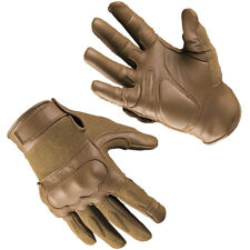 Mil-Tec Tactical Gloves Leather Knuckles Military Mens Gear Dark Coyote