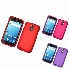 For Samsung Galaxy S2 Hercules T989 Hard Rubber Case Cover
