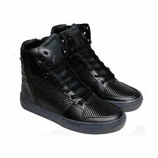 Creative Recreation Adonis Mens Black Leather High Top Sneakers Shoes