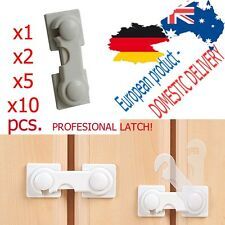 x1 x2 x5 CABINET LOCK Latch HighQUALITY Lock Leash Tether Baby SAFETY STRIP