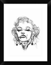 Naxart 'Marilyn Monroe' Framed Graphic Art Print