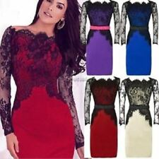WOMENS LACE PIN UP OFFICE WIGGLE PENCIL DRESS WITH BELT SIZE 8 10 12 14 16 18 20