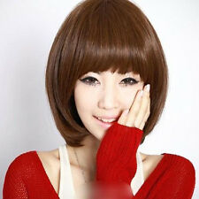 New Hot Fashion Womens Party Cosplay Sexy Wigs Full Short BOB Straight Wig Hair