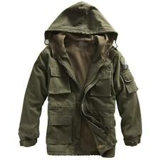 Hot Mens Military Winter Thick Jacket Coat Overcoats Fashion Casual Size Chic