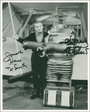 LOST IN SPACE TV CAST - PHOTOGRAPH SIGNED CO-SIGNED BY: JONATHAN HARRIS, BOB MAY