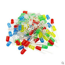 20Pcs Ultra Bright LEDs 3mm/5mm Red/Blue/Green/White/Yellow Lamp Emitting Diode