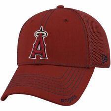 New Era Los Angeles Angels of Anaheim Red Neo 39THIRTY Stretch Fit Hat - MLB