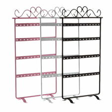 48 Holes Stand Organizer Holder Metal Earrings Display Show Jewelry Rack Lot LY