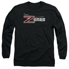 Chevy Z28 Logo Mens Long Sleeve Shirt Black