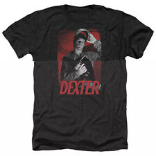 Dexter See Saw Mens Heather Shirt Black