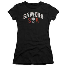 Sons Of Anarchy Samcro Forever Juniors Short Sleeve Shirt
