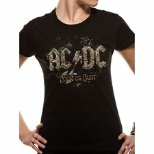 Women's AC/DC Rock or Bust Fitted T-Shirt